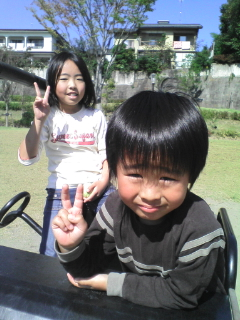 姪っ子と甥っ子です(^^)