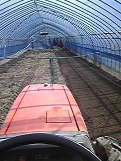 胡瓜を植える準備もほとんど終了